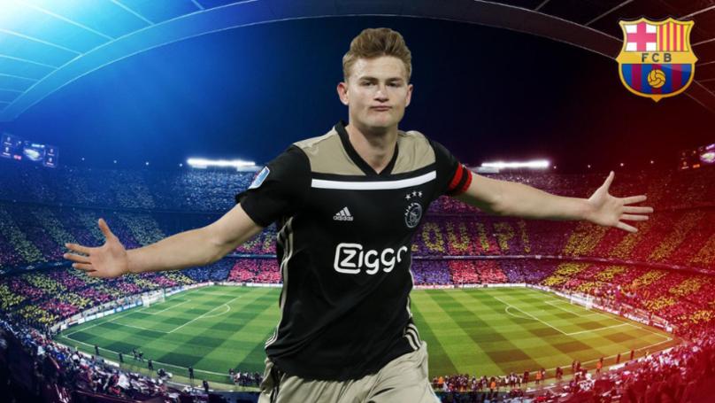 Matthijs De Ligt Set To Sign For Barcelona