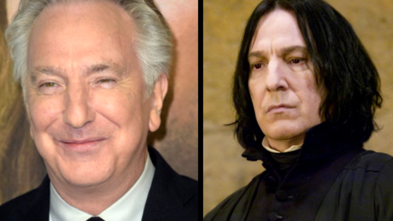 Alan Rickman Wrote A Heartfelt Farewell Letter To Harry Potter Films When They Ended