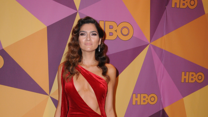 Blanca Blanco Speaks Out On Why She Wore Red To Golden Globes