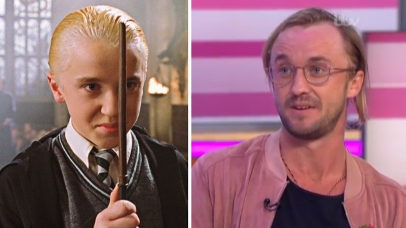 ​Tom Felton Shocks Fans With Drastically Different Look