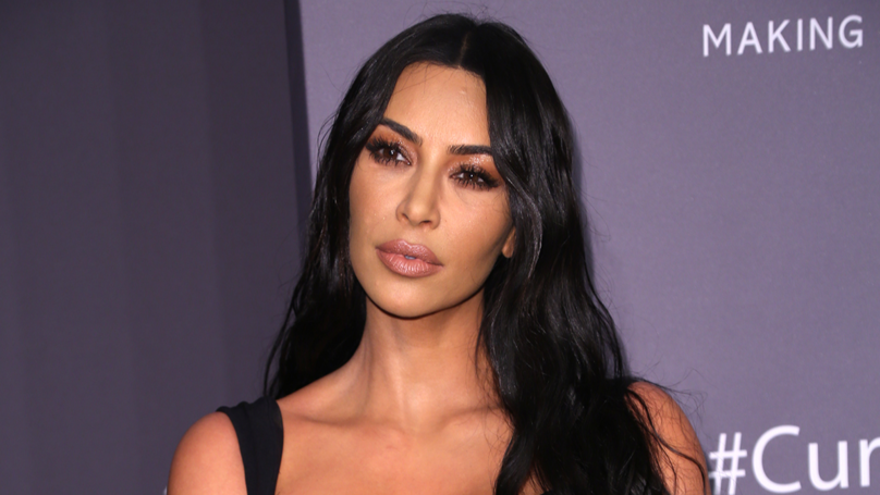 Kim Kardashian Shares Candid Snap Of Psoriasis On Her Face