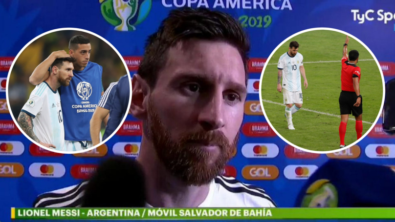 Lionel Messi Slammed 'Bulls**t' Refereeing Decisions Made In Argentina's Copa América Defeat To Brazil