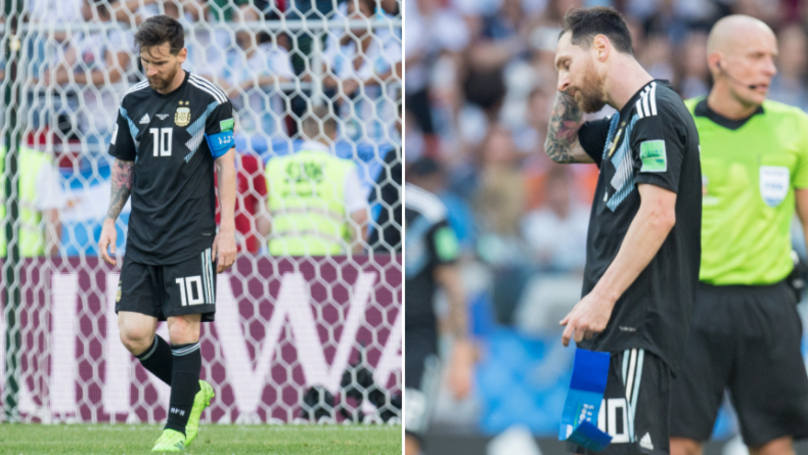 Lionel Messi Has Been Hit Really Hard By His Penalty Miss