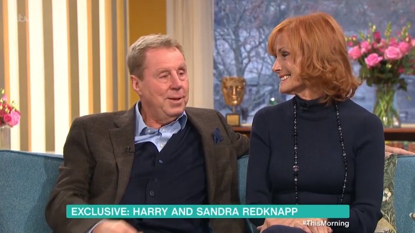 ​Harry And Sandra Redknapp Appeared On 'This Morning' Together