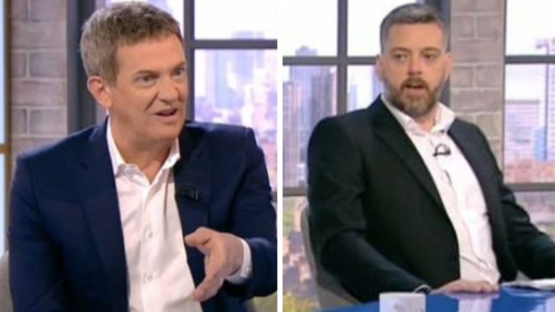 WATCH: I'm A Celeb's Iain Lee Tells Matthew Wright To 'F Off' In Live TV Rant