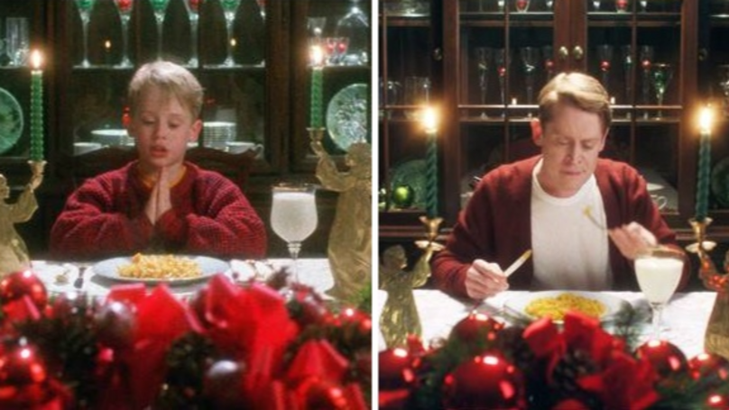 ​Macaulay Culkin Re-Enacts Scenes From Home Alone