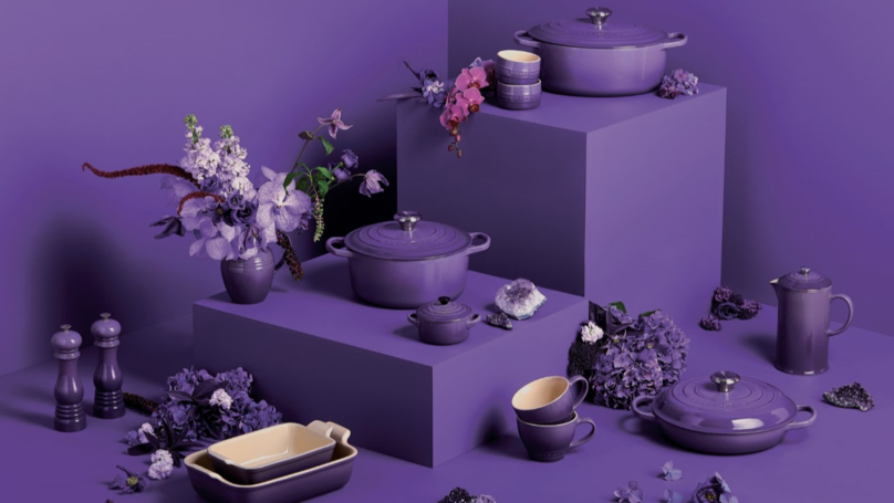Le Creuset Launches New Ultra Violet Collection