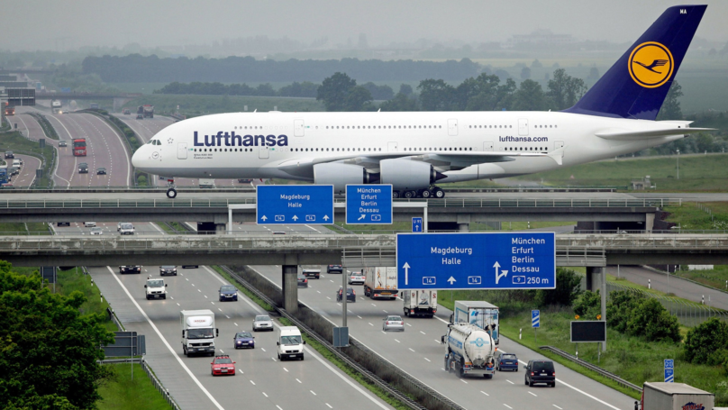 Welcome To The Airport That's Built Over A Motorway, Because Why Not?