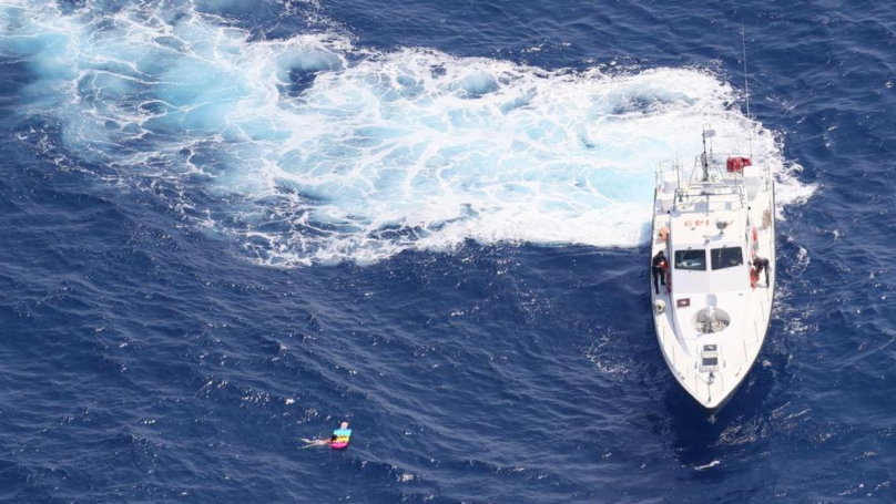 Sunbather Is Rescued Seven Miles Out At Sea On Tiny Lilo