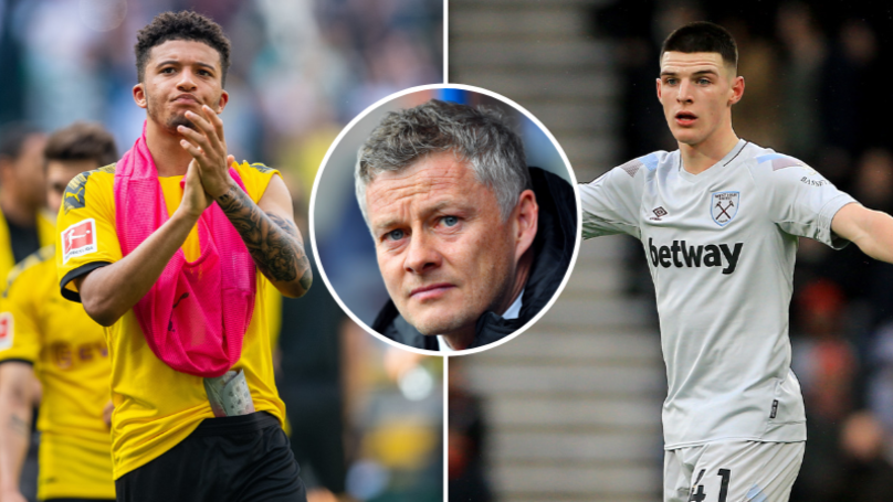 Manchester United Give Up On Targets Jadon Sancho And Declan Rice