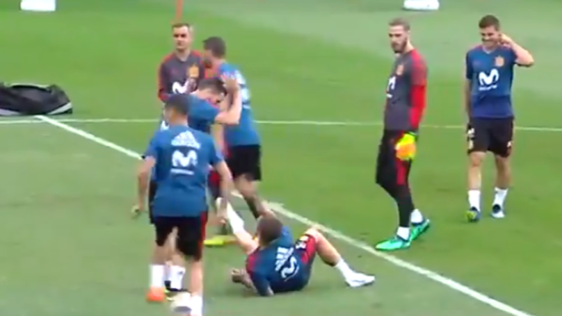 Watch: Sergio Ramos Appears To Take The P*ss Out Of Cristiano Ronaldo