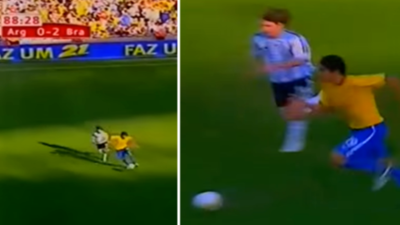 When Lionel Messi Tried To Catch Kaka And Failed Miserably