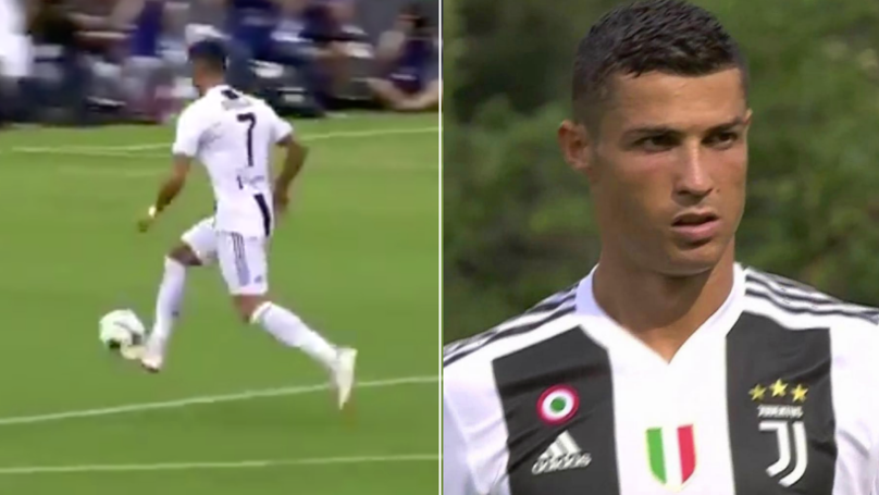It Took Just 8 Minutes For Cristiano Ronaldo To Score His First Juventus Goal