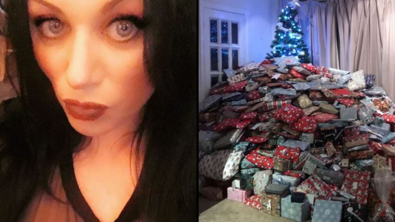Mum Branded Selfish After Sharing Photo Of Huge Mound Of Presents