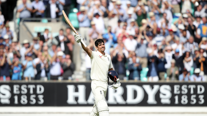 Alastair Cook Hits Century On His Final Test Innings For England