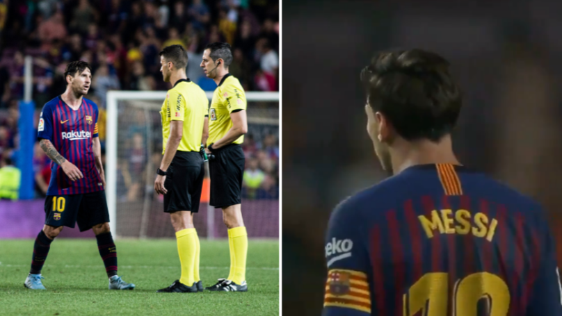 Lionel Messi Showed His Anger At Full Time Following 2-2 Draw With Girona
