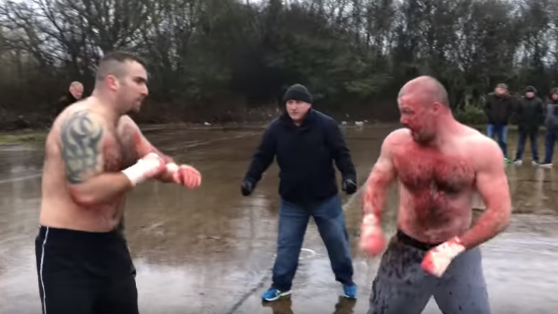 Two Men Settle Their Differences In A Bloody 30-Minute Bareknuckle Fight