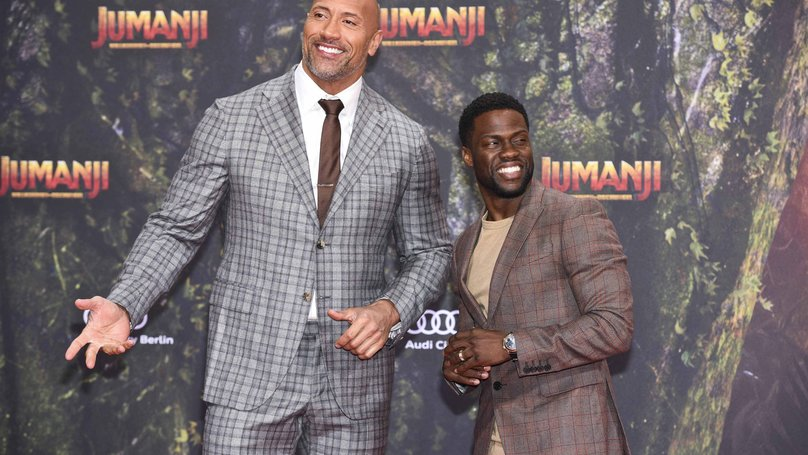​The Rock And Kevin Hart Have The Best Bromance In Hollywood