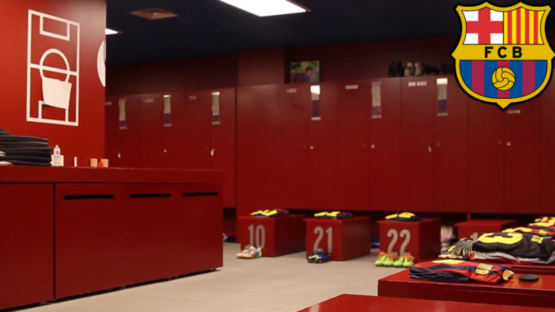 Barcelona Player Has Already Cleared Out His Locker, Looks To Be Surplus To Requirements