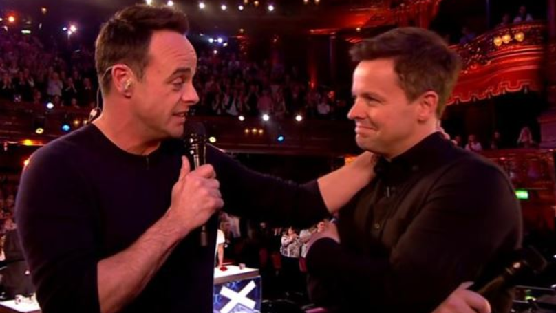 Ant McPartlin Says He 'Can't Accept' NTA In Emotional Speech To Declan Donnelly