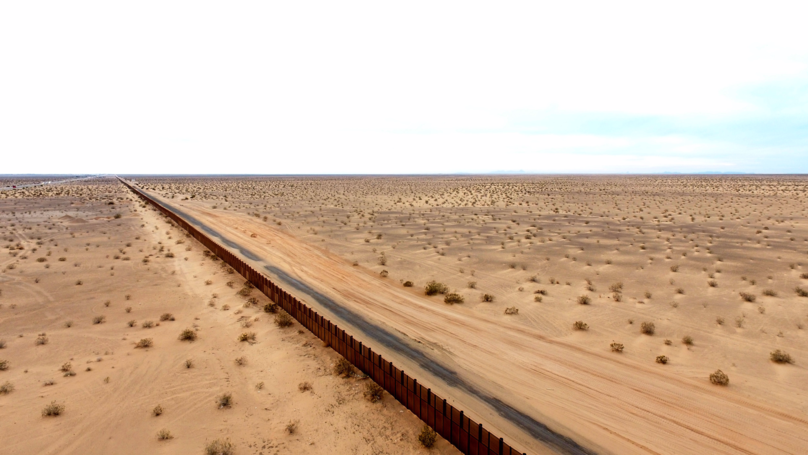 President Donald Trump Releases Pictures Of What Border Wall Will Look Like