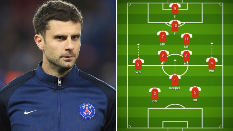 Fan Breaks Down Thiago Motta's 2-7-2 Formation For Paris Saint-Germain Under-19s