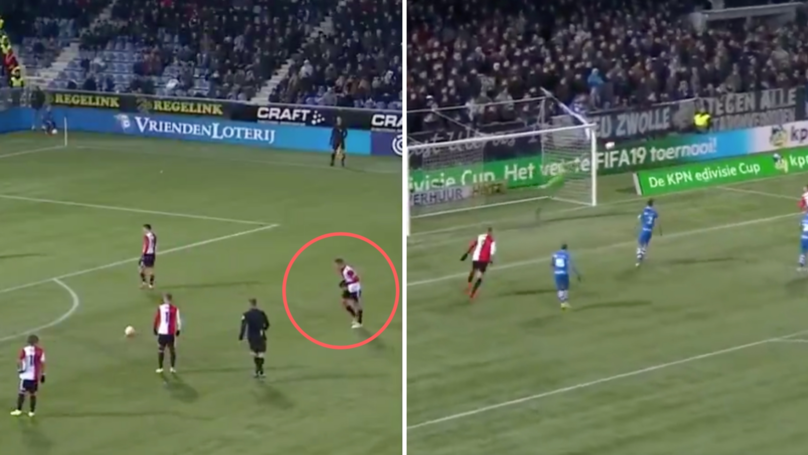 Robin Van Persie Proves That He Still Has It With This Brilliant Free-Kick