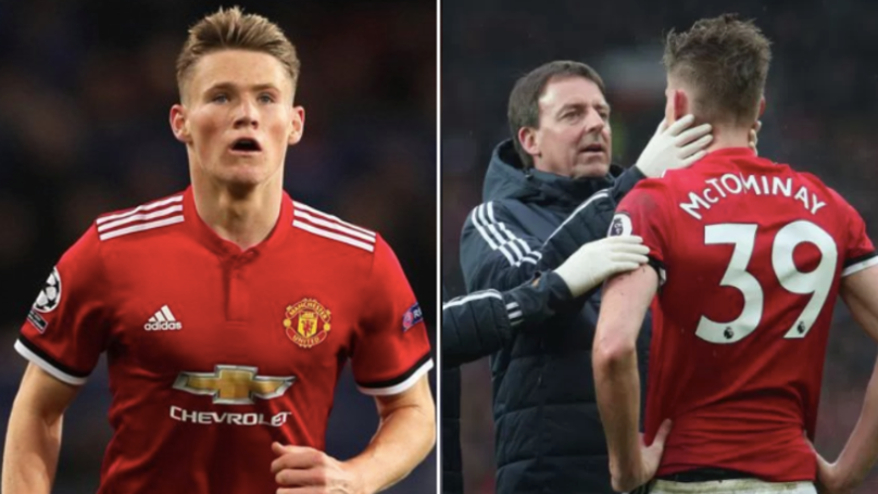 What Scott McTominay Looked Like In 2015 Compared To Now Is Seriously Mind Blowing