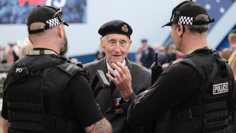 D-Day Hero Returns To Normandy After Surviving Hammer Attack