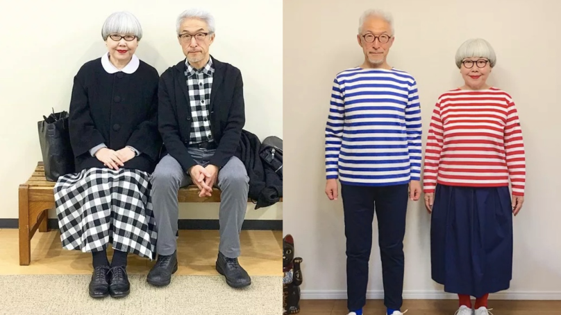 Married Couple Who Wear Matching Outfits Everyday Are Relationship Goals