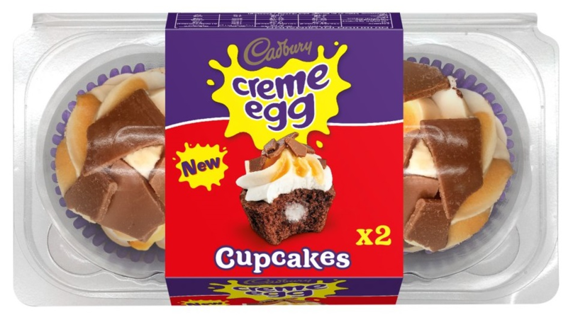 Iceland Is Selling Creme Egg Cupcakes And They're Eggcellent