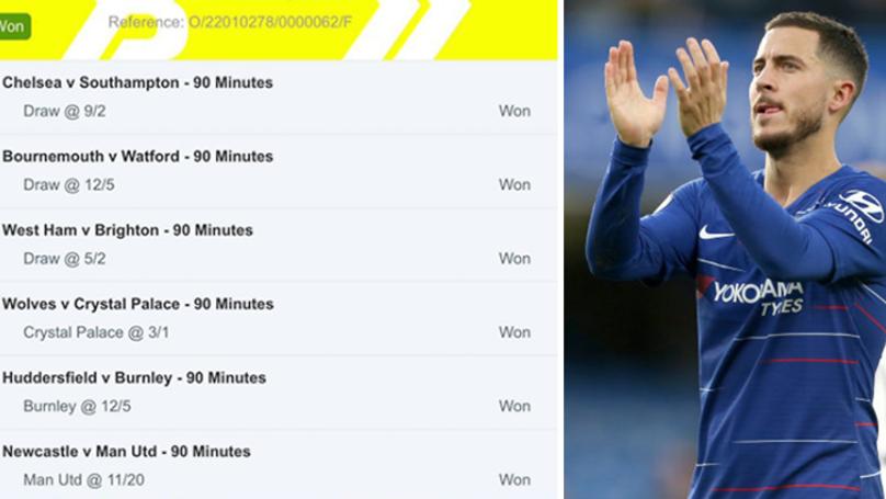 Woman Wins £4.1k From £2 Six Fold Accumulator Thanks To Southampton