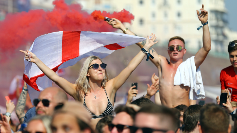 England Has A Sore Head After Celebrating Win Over Sweden