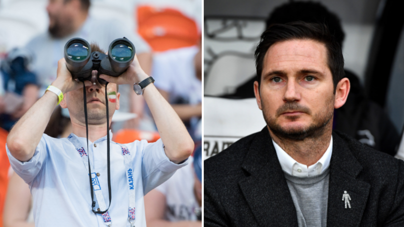 Derby County Have To Stop Training Session After Man Is Caught Spying