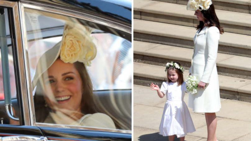 People Aren't Impressed With The Duchess Of Cambridge's Choice Of Dress For The Royal Wedding