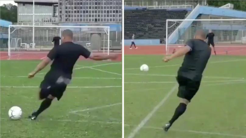 Roberto Carlos Is Still An Absolute Boss At Taking Free-Kicks, Aged 46