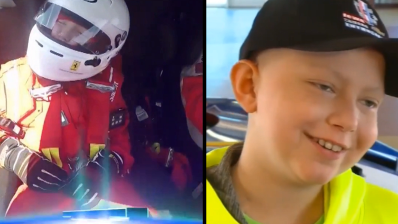 Boy Who Asked For Ferrari Stickers On Coffin Gets To Ride In The Real Thing