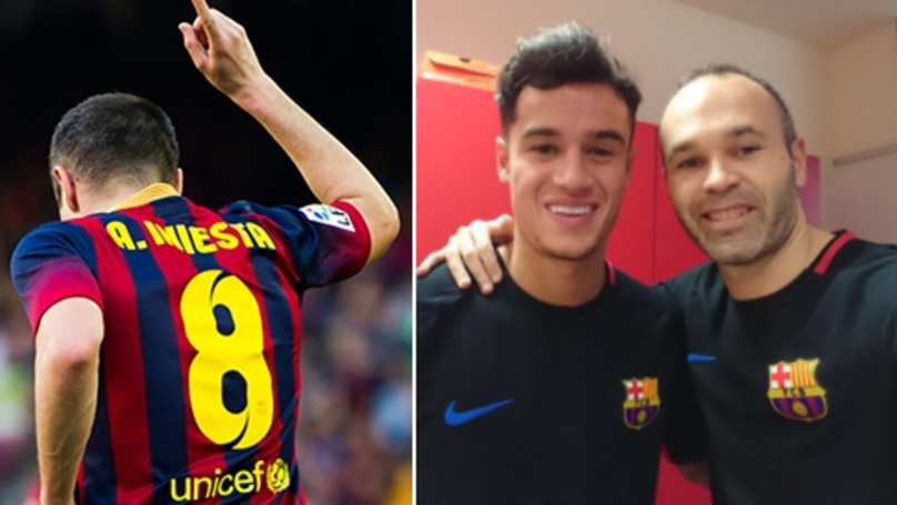Andres Iniesta Defiantly Vows He Isn't Retiring Following Philippe Coutinho Signing