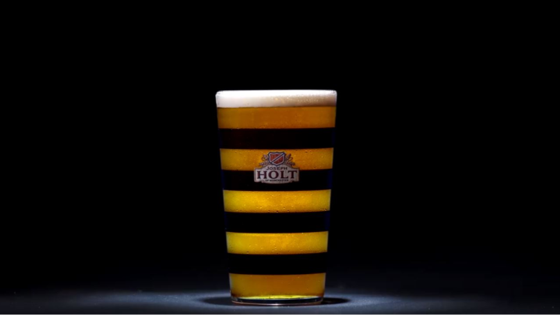 Joseph Holt Launch Limited Edition 'Manchester Bee Glass'