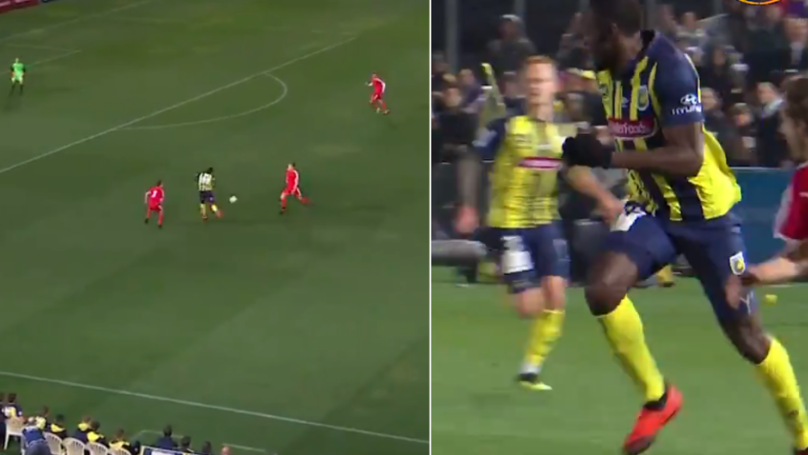 Usain Bolt's First Touch Was The Pass Of The Game - And He Didn't Even Mean It