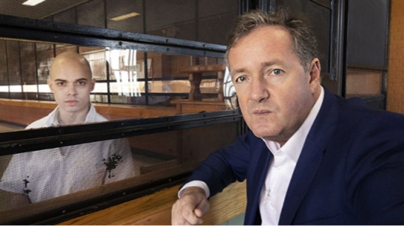 Piers Morgan Reveals He Was Banned From Being In Same Room As Killer During Interview