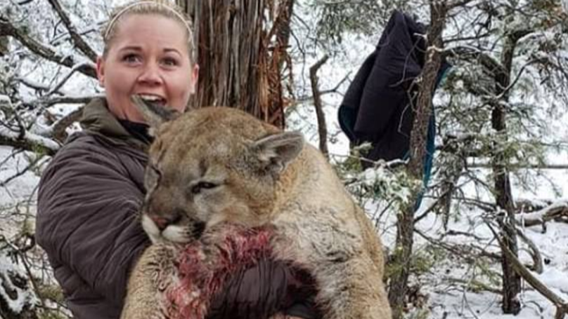 Hunter Sparks Outrage After Sharing Photos Of Mountain Lion She Killed