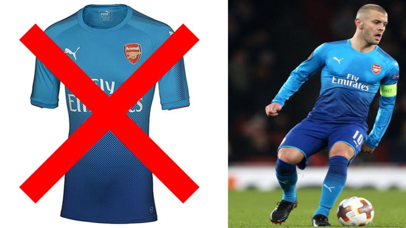 Arsenal's Record In This Season's Away Kit Is Atrocious