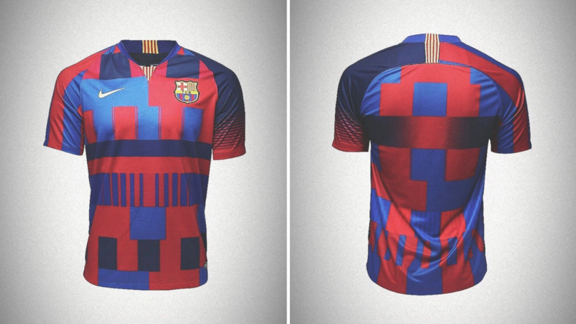 Nike Partners With Barcelona To Release Limited Edition 20th Anniversary Mashup Jersey