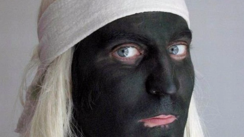 Noel Fielding Has Caused Controversy By Blacking Up For A Photo