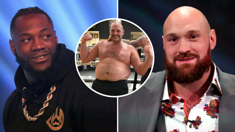 Deontay Wilder Has Slammed Tyson Fury For Using 'Mental Illness' To Build His US Profile