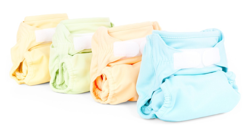 More Parents Are Using Nappies Made From Cloth