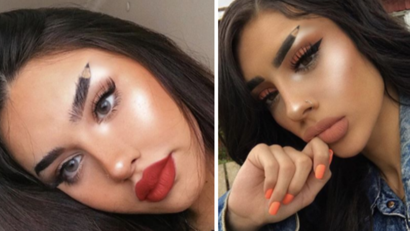 These Pencil Eyebrows Aren't What You Think They're Going To Be
