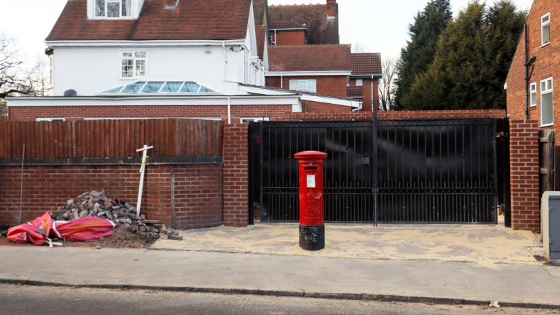 Homeowner Asks For 100-Year-Old Postbox To Be Moved After Widening Driveway