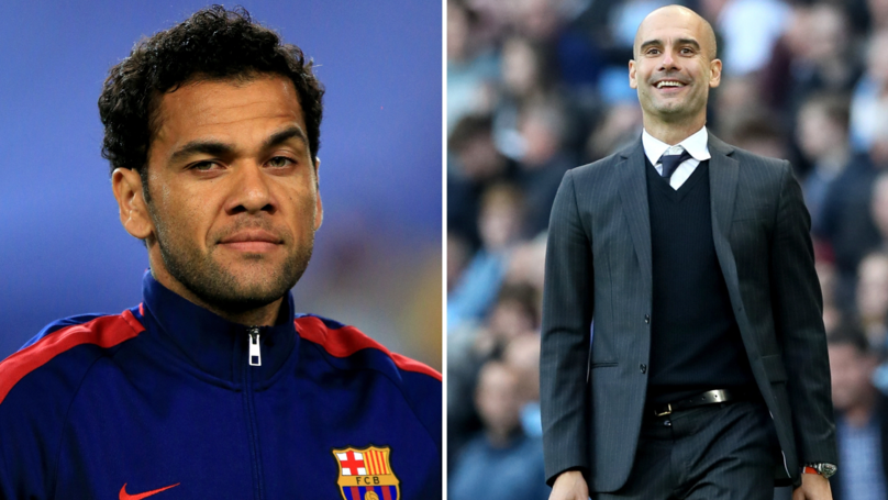 Dani Alves Says Playing Under Guardiola Is 'Better Than Sex,' Pep Hilariously Responds